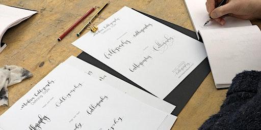 Improver's Modern Calligraphy Studio Session