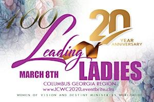 100 Leading Ladies of Columbus GA Region Celebration-International Christian Women's Conference