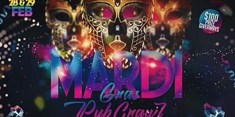 MARDI GRAS PUB CRAWL  tickets