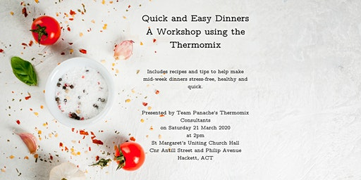 Quick and Easy Dinners Workshop