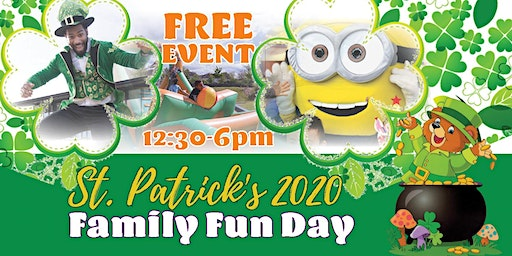 Saint Patrick's 2020 Family Fun Day! Free Event in South Dublin