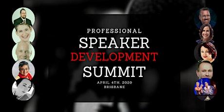 Brisbane Professional Speaker Development Summit tickets