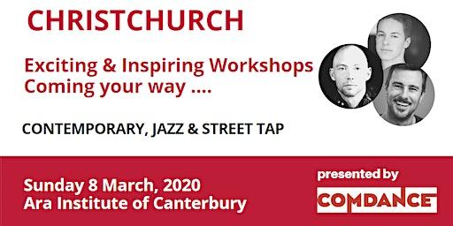 COMDANCE Contemporary, Jazz & Tap Workshops -  Christchurch
