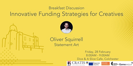 Cratis Breakfast Discussion - Innovative Funding Strategies for Creatives tickets