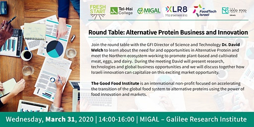 Migal Round Table: Alternative Protein Business and Innovation