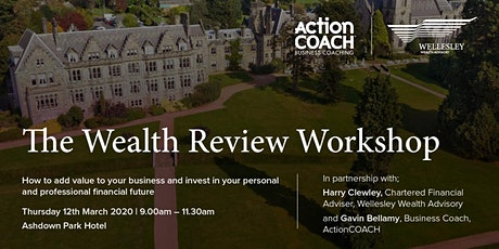 The Wealth Review Workshop.  How to Add Value to Your Business tickets