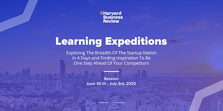 Harvard Business Review France Learning Expedition June 2020 - by Axis Innovation tickets