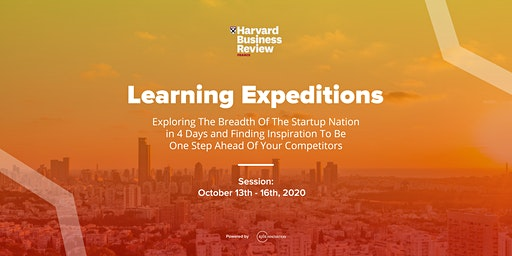 Harvard Business Review France Learning Expedition October 2020 - by Axis Innovation