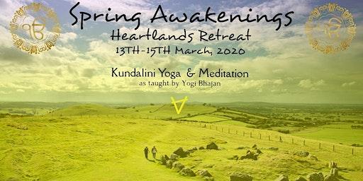 Spring Awakenings : Heartlands Retreat 2020