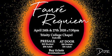 Divisi - Fauré Requiem tickets
