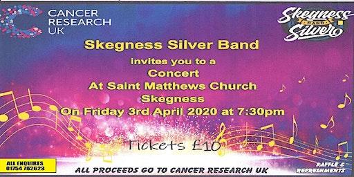 Skegness Silver Band Cancer Reserch UK Concert