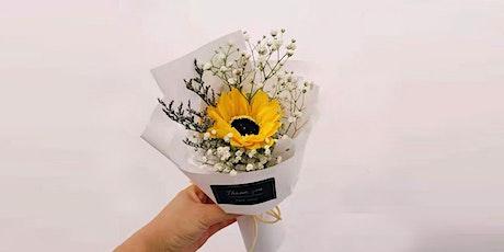 Hobby Flower Arrangement - You are my Sunshine (Sunflower Workshop) tickets