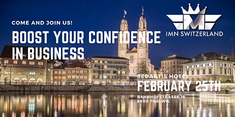 Boost your Confidence in Business tickets