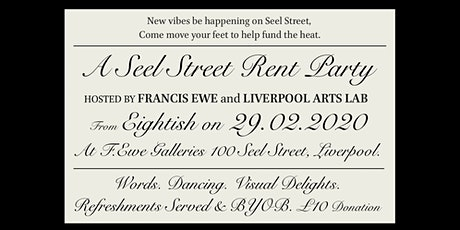 A Seel Street Rent Party tickets