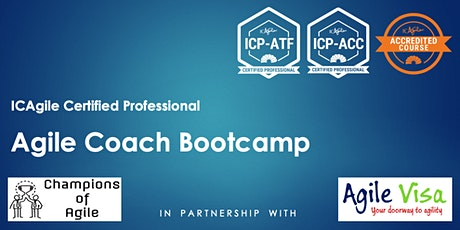 Agile Coach Bootcamp (ICP-ATF & ICP-ACC) tickets