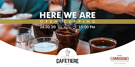 Presentazione Specialty Cafetiere Coffee tickets