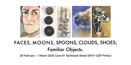 FACES, MOONS, SPOONS, CLOUDS, SHOES; Familiar Objects. tickets