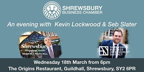 An Evening with Kevin Lockwood & Seb Slater tickets