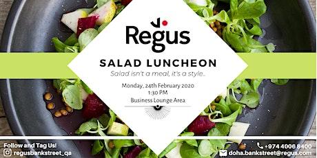 REGUS Salad Luncheon tickets