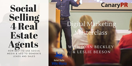 Digital Marketing for Real Estate Agents tickets