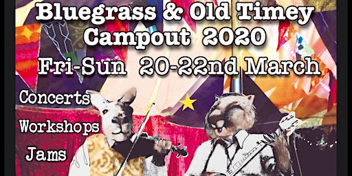 5th Fat Wombat Farm Bluegrass & Old Timey Campout