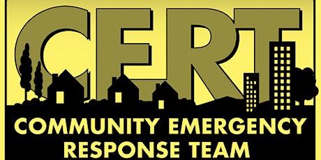 CERT  Advanced - Community Outreach tickets
