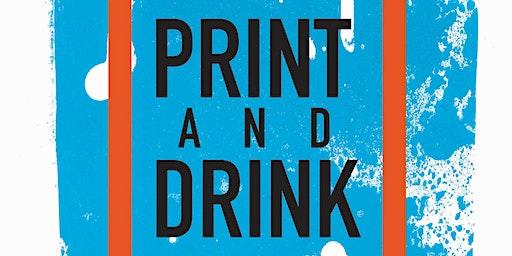 Print & Drink Pop-Up Special