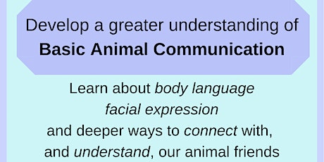 Basic Animal Communication tickets