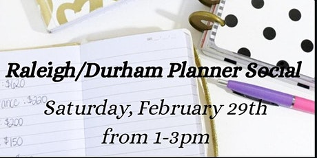 Coffee and Planners Social - Raleigh/Durham, NC tickets