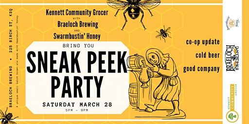 KCG Sneak Peek Party at Braeloch Brewing