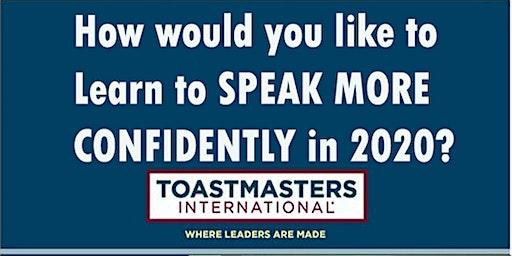 20th February Toastmasters - Saffron Walden Speakers Club (Public Speaking)