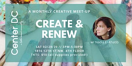 Renew & Create tickets