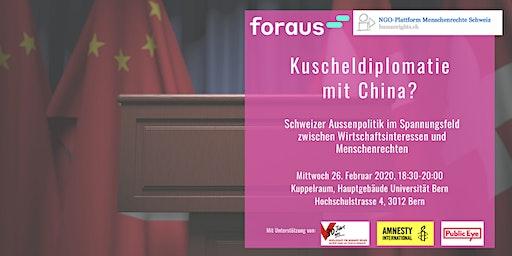 Bern: Kuscheldiplomatie mit China?