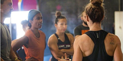 Int'l Women's Day Workout: Blunt Force Training w/ FitLo Denver and Athleta
