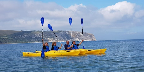 2 hour Swanage Bay kayaking experience tickets