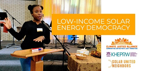 Low-Income Solar Event tickets