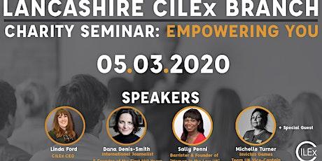 Lancashire CILEx Charity Seminar 2020 tickets