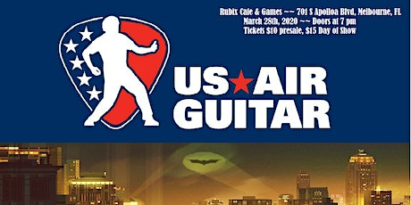 General Admission Tickets for Florida Air Guitar Regional Competition tickets