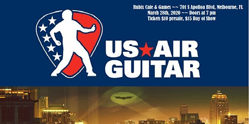 General Admission Tickets for Florida Air Guitar Regional Competition