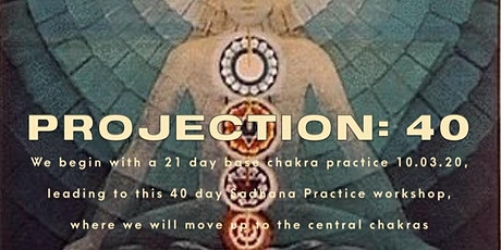 Kundalini Sadhana Practice: Projection 40 tickets