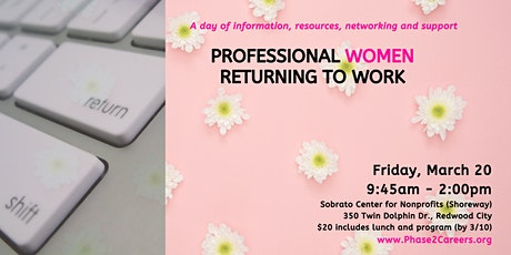 Professional Women Returning to Work Day tickets