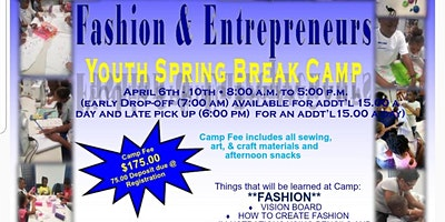 Fashion & Entrepreneur Youth Spring Break Camp