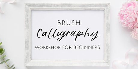 Brush Calligraphy Workshop for Beginners tickets
