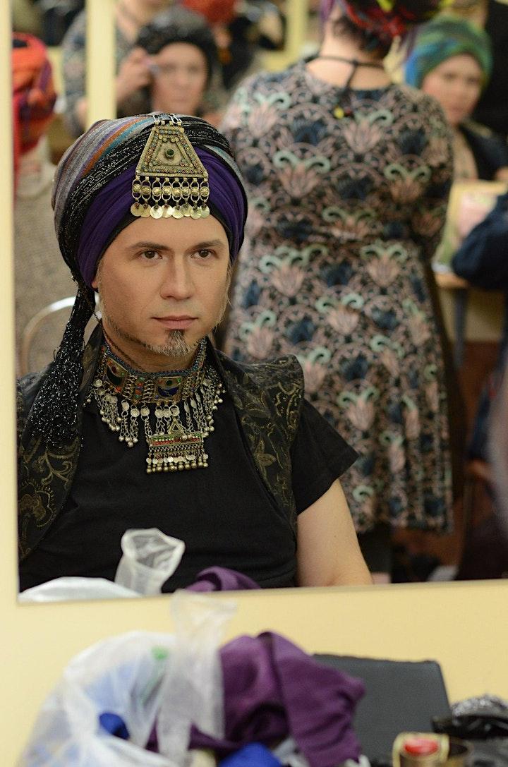 """Style your Turban! Turban Look & Make-Up: Bild"