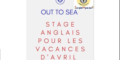 STAGE  AVRIL  D'ANGLAISAVEC ENGLISH GARDEN billets