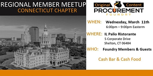 Greater Connecticut Member Meetup March 11, 2020