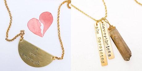 International Women's Day - empowering  jewellery making workshop tickets