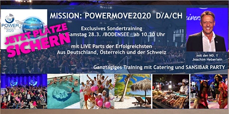 MISSION: POWERMOVE Training Teamlink/ 28.03.2020 Tickets