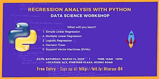 Regression Analysis with Python Workshop
