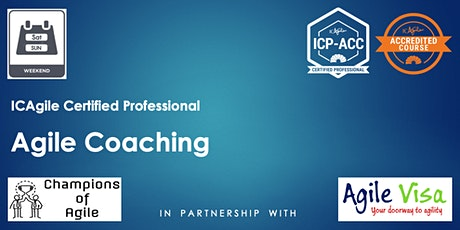 Agile Coaching Masterclass (ICP-ACC) tickets
